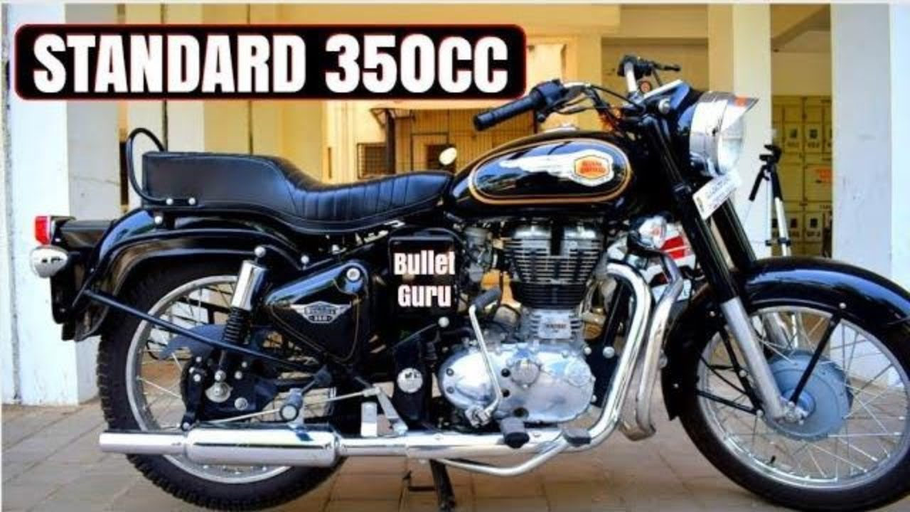 Royal Enfield Standard Bullet 350cc Full Review Youtube