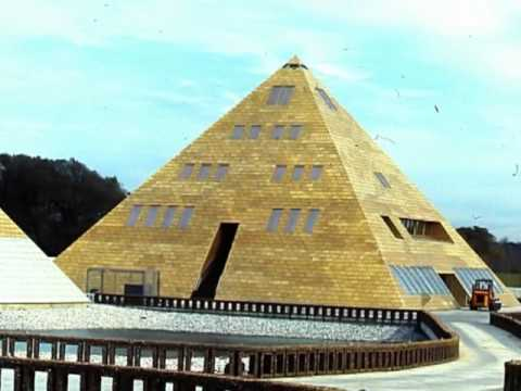 Inside The Golden Pyramid House Youtube