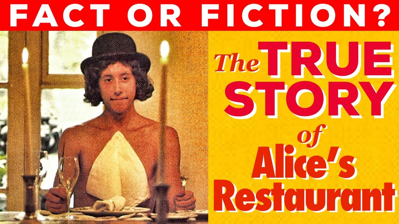 """The True Story of """"Alice's Restaurant"""" by Arlo Guthrie- A Thanksgiving Tradition!"""