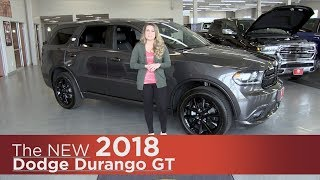 New 2018 Dodge Durango GT - Minneapolis, Elk River, Coon Rapids, St Paul, St Cloud, MN - Review