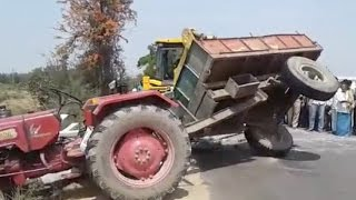 VIRAL VIDEO : BEST Funny Videos 2017 - NO DRIVER - Tractor Commits Suicide - Crane Lifts