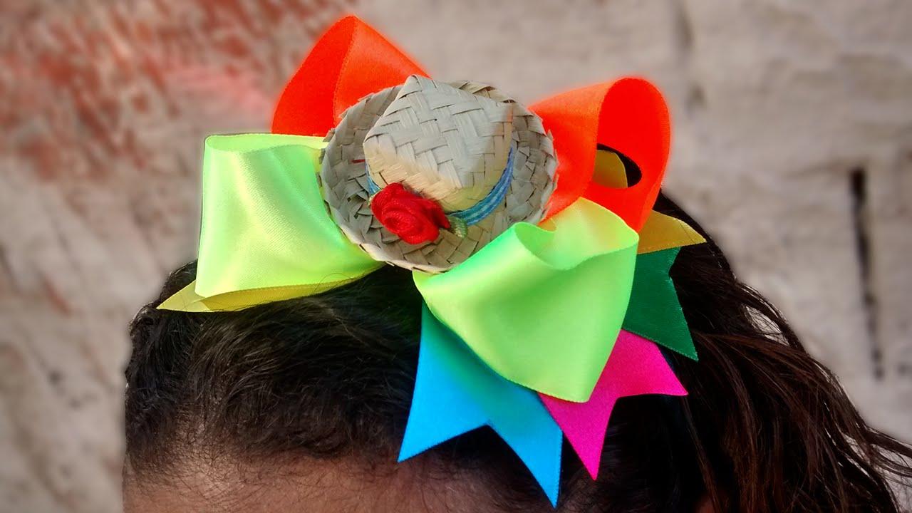 Resultado de imagem para acessorios para cabelo para festa junina