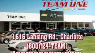 Team One Chevrolet Buick Gmc we have lots to talk about.wmv