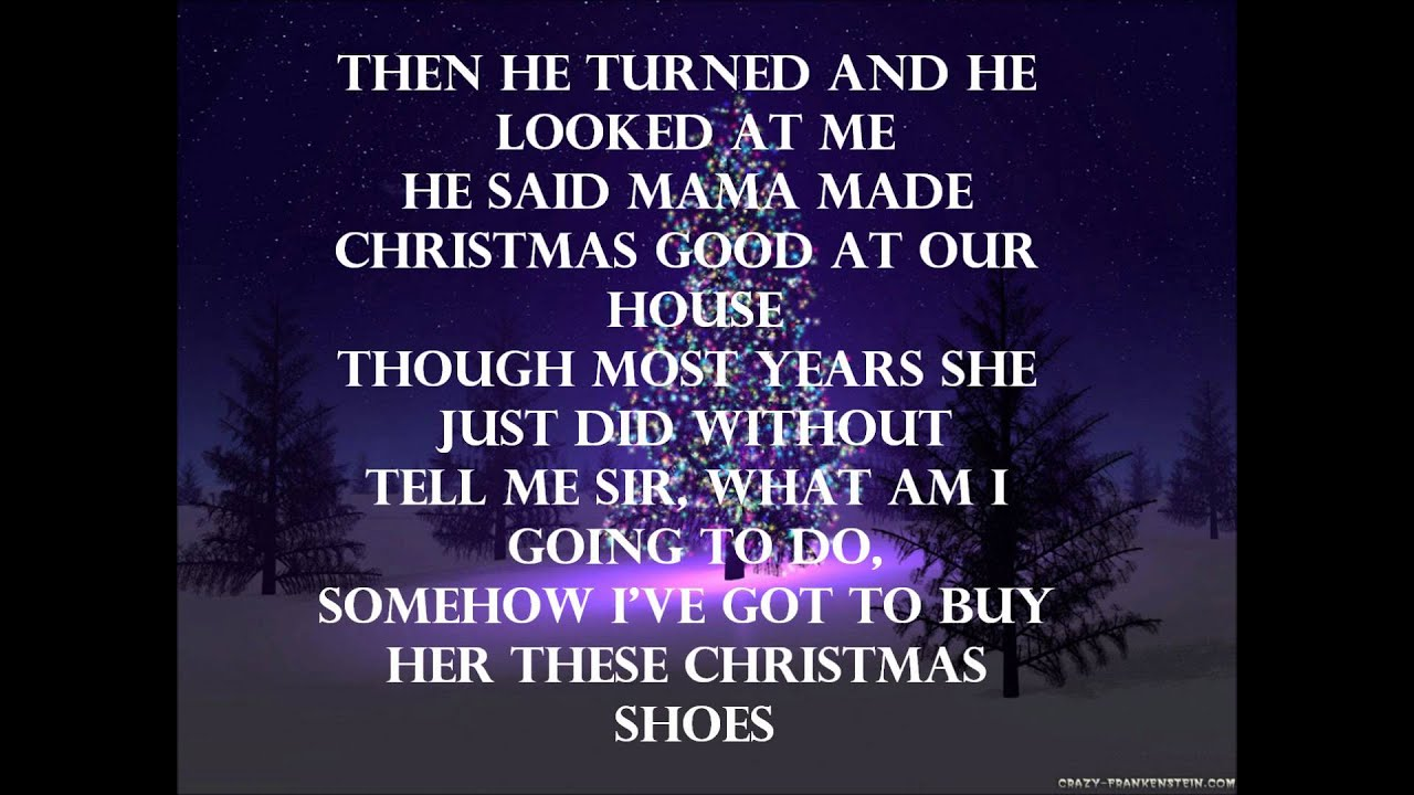 Newsong - The Christmas Shoes Lyrics [HD] - YouTube