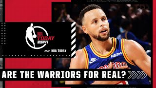 Are the Warriors for real? Zach Lowe & Vince Carter think so! | NBA Today