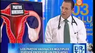 Dr. TV Perú (04-12-2013) - B1 - Tema del día: El prolapso