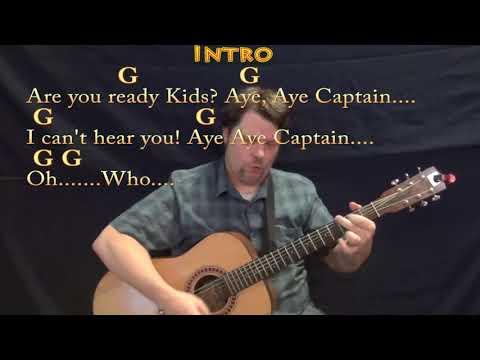 Spongebob Squarepants (TV Theme) Strum Guitar Cover Lesson in G with Chords/Lyrics