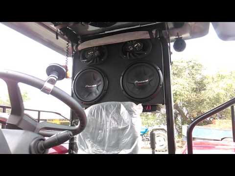 ARJUN TRACTOR WOOFER SYSTEM