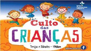 Culto Infantil 30/03/2021