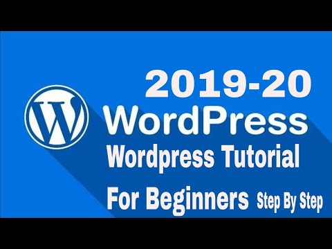 WordPress Tutorial For Beginners Step by Step 2019|What You Need for this Course thumbnail