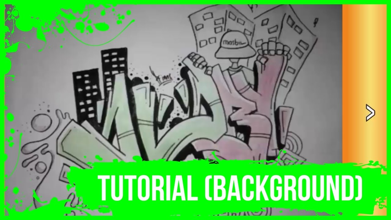 Tutorial Graffiti Background For Beginners Graffitiprims