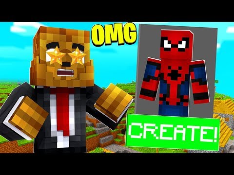 UPDATE* NEW* SPIDERMAN SUIT AND MAP IN MINECRAFT - MINECRAFT MODDED SUPERHERO CREATOR thumbnail