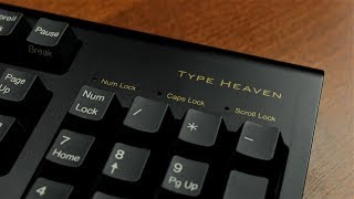 Topre Type Heaven review (Topre 45 g capacitive)