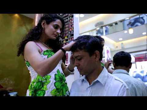 Common Man Haircut in a Salon    Short Film  Inso World