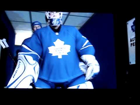 NHL 10 Toronto Maple Leafs Intro with Starting Lineup