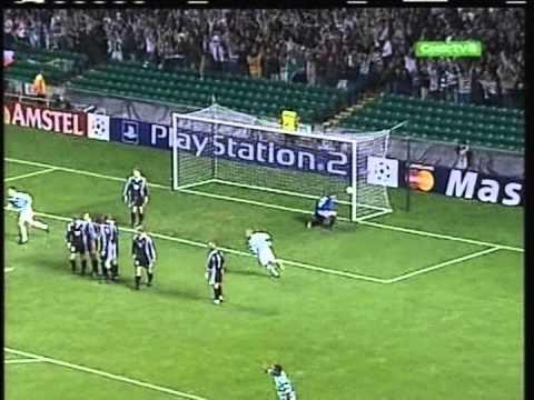 2001 (October 10) Celtic Glasgow (Scotland) 1- Rosenborg (Norway) 0 (Champions League)