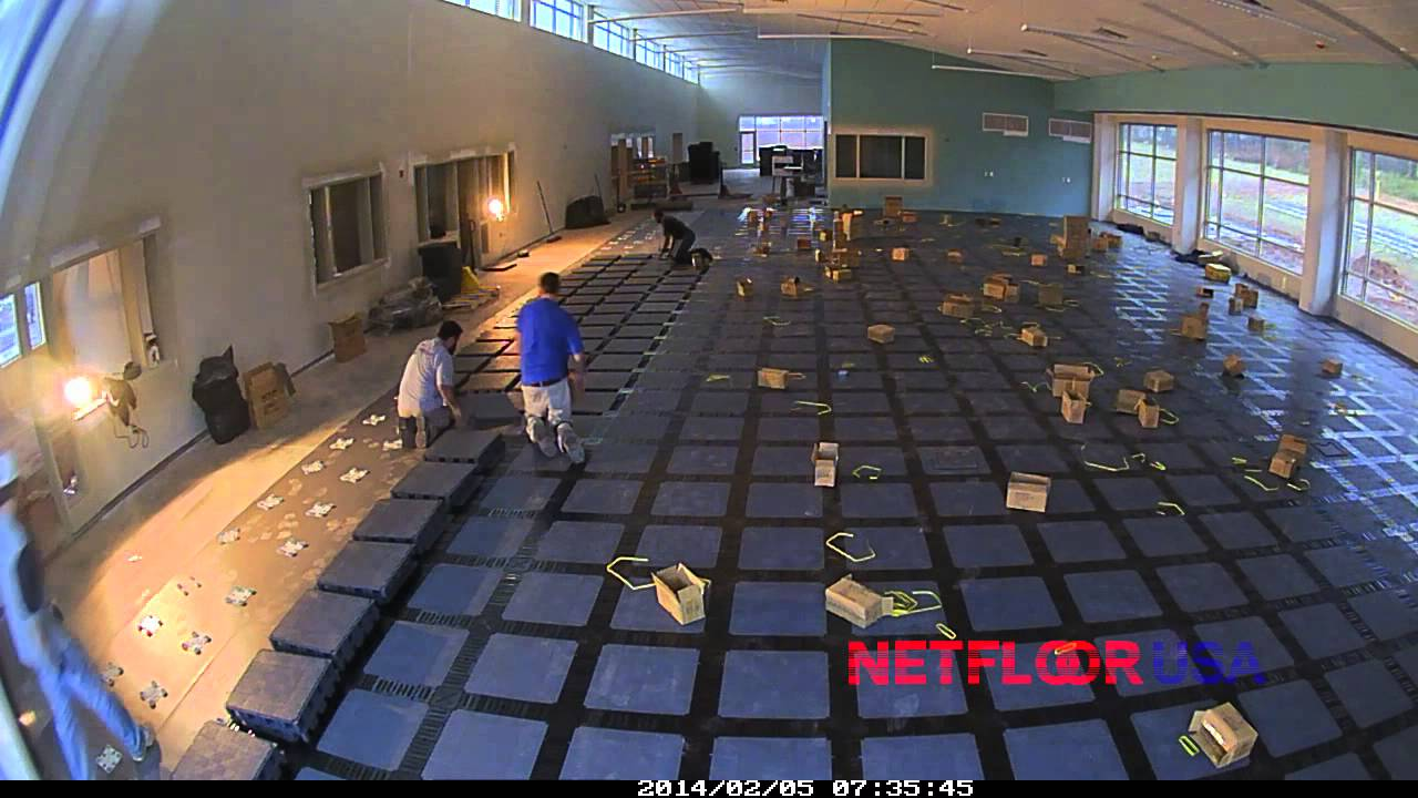 Netfloor Usa Cable Management Access Floor Installation