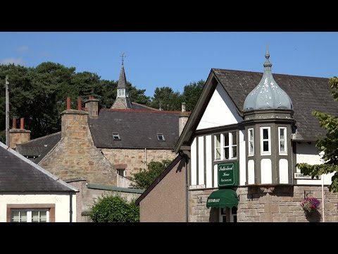 Great Britain - Scotland - Dornoch in the Highland county of Sutherland