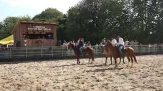 Concours Western Tri de bétail à cheval Retschwiller