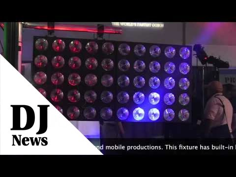 ADJ Matrix Beam LED with Ask Alfred: By John Young of the Disc Jockey News
