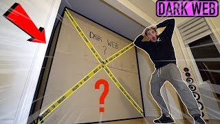 (Insane) The WORLDS Biggest Dark Web Mystery box unboxing (Something is Alive inside)