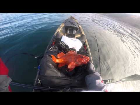 Big Sur Kayak fishing 8/23/15