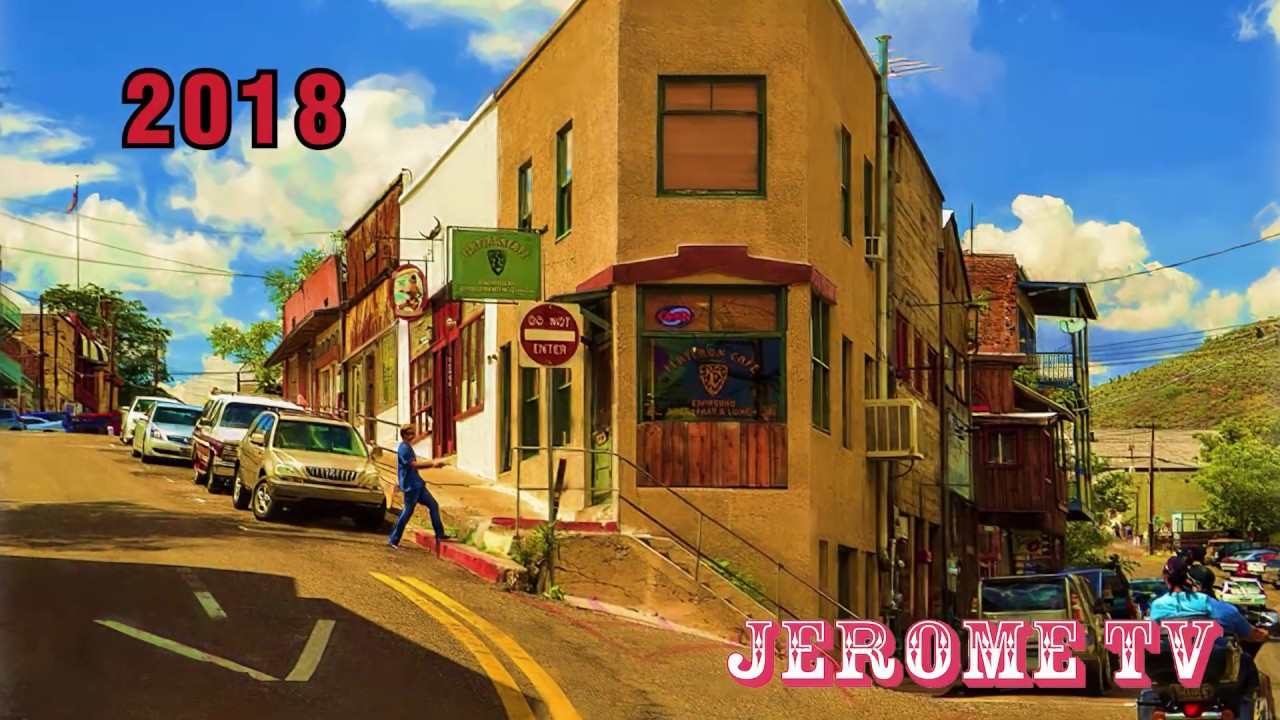 Jerome TV 2020 Commercial showcasing Jerome, Arizona from the town streets to the Ghost Town!