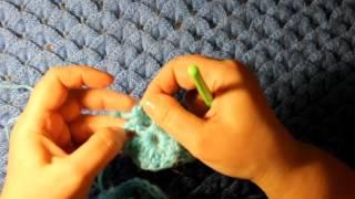 Как связать крючком шаль