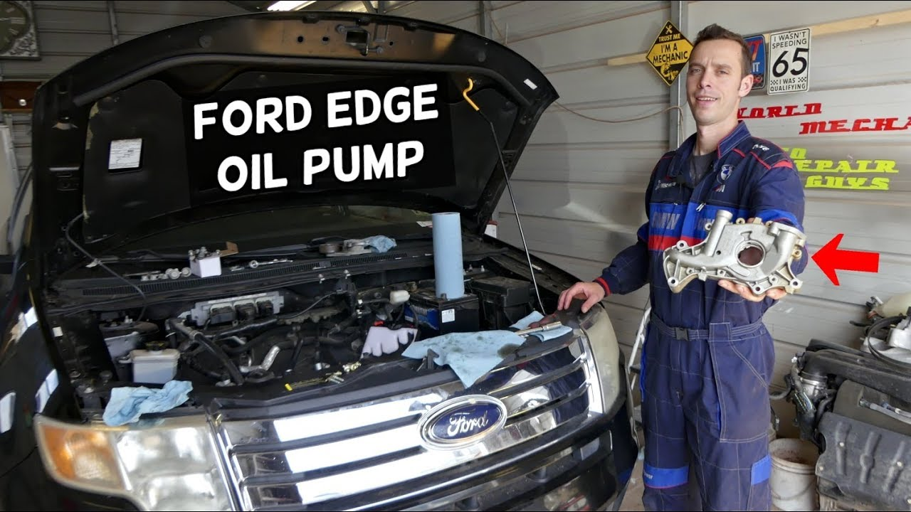 [EQHS_1162]  FORD EDGE OIL PUMP LOCATION AND REPLACEMENT EXPLAINED - YouTube | 2007 Ford Edge Engine Diagram Oil Sensor |  | YouTube