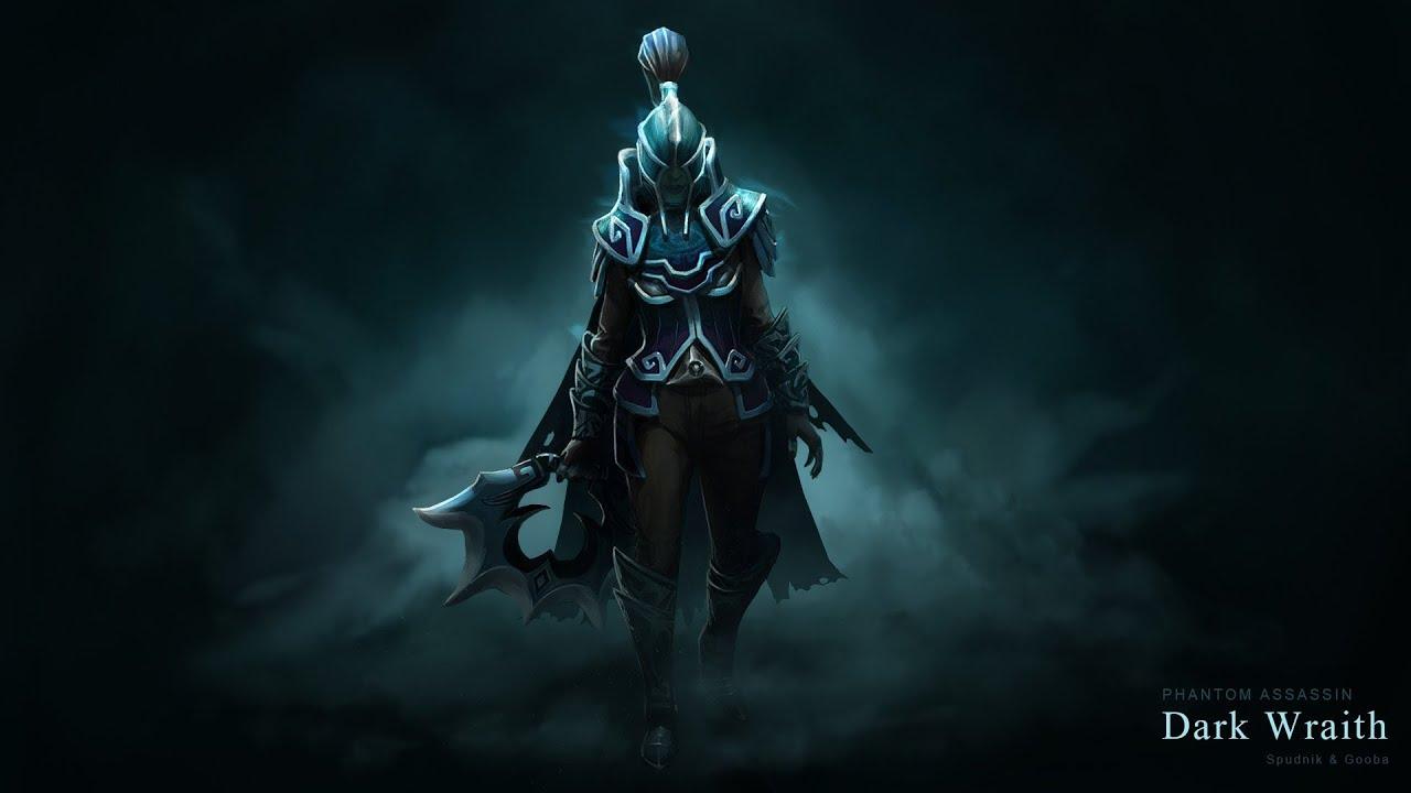 Dark Wraith Phantom Assassin Set Custom Animation Preview Dota 2 YouTube