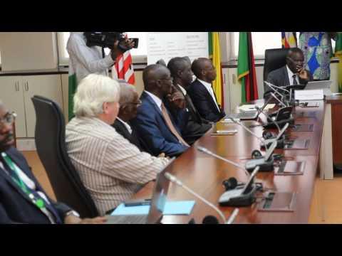 Sealink Meeting in Lome - FEWACCI President Welcome Speech