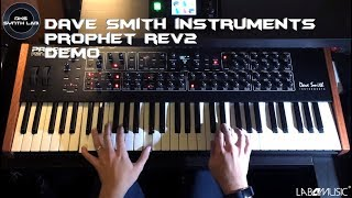 Dave Smith Instruments Rev2-16 Demo