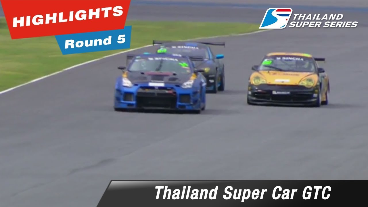 Highlights Thailand Super Car GTC : Round 5 @Chang International Circuit
