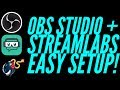 UPDATED | OBS Studio + StreamLabs EASY Set-Up!  (Game Scene, Overlay, Tip Cup, Recent Dono, + MORE!)