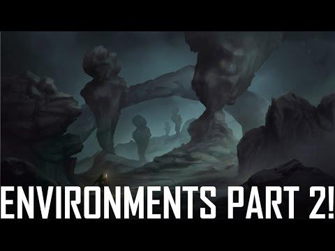 Critique Hour! Environments Pt. 2! Composition and more!