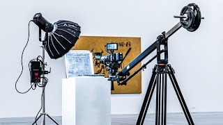 Proaim 7' Wave-2 Camera Jib Crane, Pan Tilt, Dolly Stand | Honest customer review and usage.