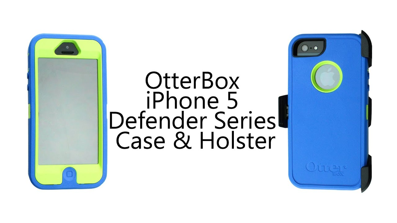 otterbox iphone 5 defender series case holster video. Black Bedroom Furniture Sets. Home Design Ideas