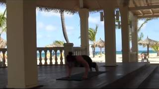 10 Minute Yoga Flow at Manchebo Resort Aruba