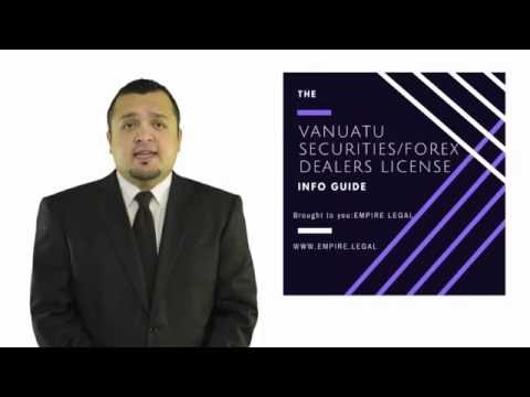 How to Apply to Vanuatu Forex/Binary Options License - (1/2)