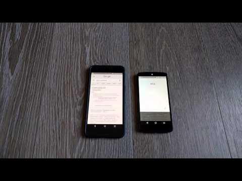 Old and new Google TTS voices compared