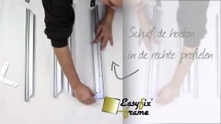 EasyFix textielframe  instructiefilm