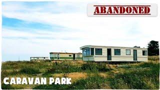 Abandoned Caravan Park, Norfolk Coast.