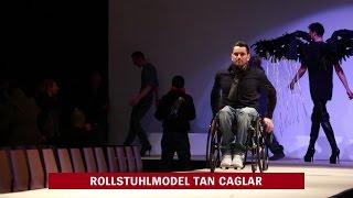Rollstuhlmodel Tan Caglar: Hingucker Handicap