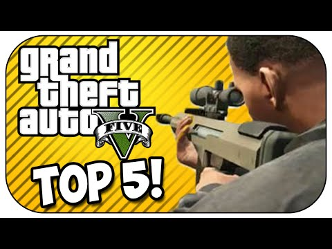 Top 5 SNIPER KILLS in GTA 5!