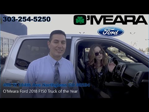 O Meara Ford >> 2018 Ford F 150 Truck Of The Year At O Meara Ford
