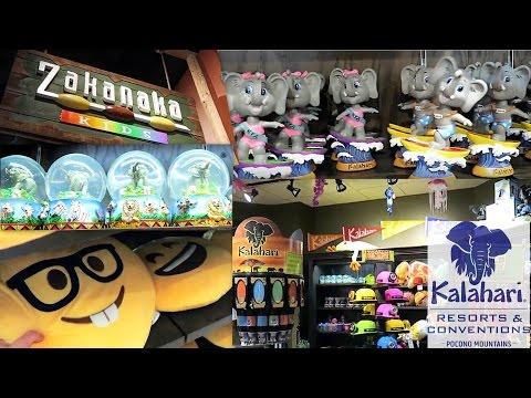 zakanaka-kids-gift-shop-tour-at-kalahari-resorts-poconos,-pa