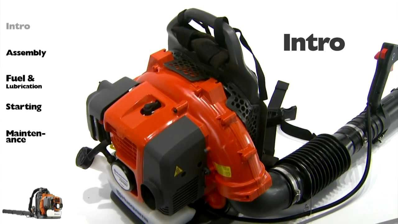 Husqvarna Backpack Blowers - Intro