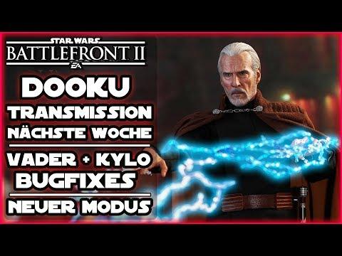 Dooku Transmission nächste Woche! Neuer Modus getestet & Helden Bugfixes! Star Wars Battlefront 2 thumbnail