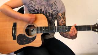 How to play Thunder by Boys Like Girls (acoustic rhythm guitar) - Jen Trani