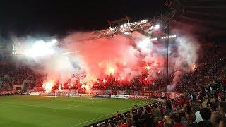 Olympiakos 4-0 Aek Athens 17/10/2015 Gate 7 Atmosphere